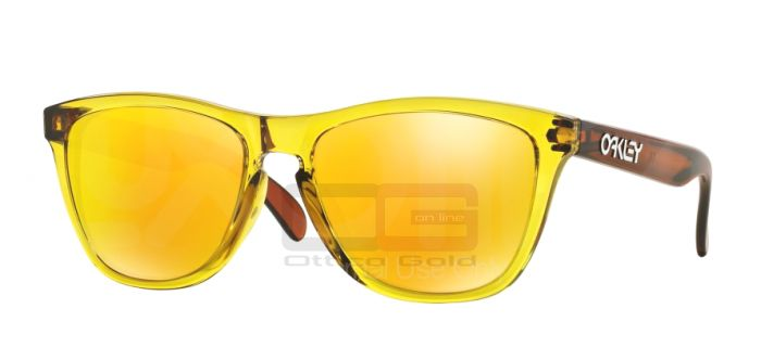 Sunglasses Oakley OO9013 FROGSKINS - 901339 OCTANE YELLOW FIRE IRIDIUM