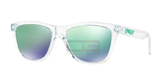 Солнцезащитные очки Oakley OO9013 FROGSKINS - 9013A3 POLISHED CLEAR JADE IRIDIUM