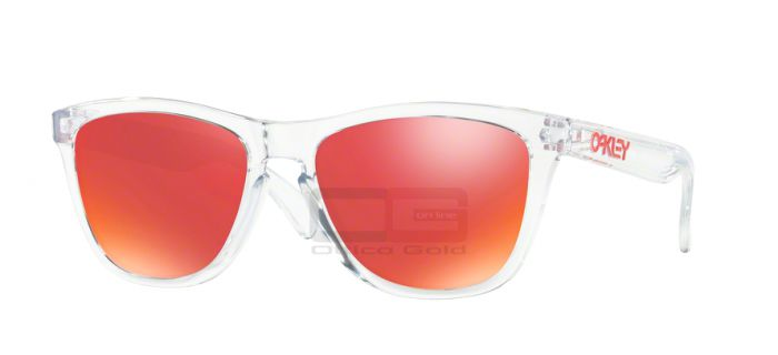 Occhiali da sole Oakley OO9013 FROGSKINS - 9013A5 POLISHED CLEAR TORCH IRIDIUM