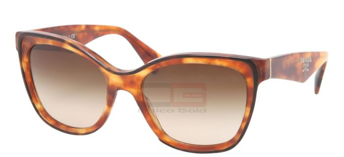 Occhiali da sole Prada PR 20PS - NAK6S1 TOP HAVANA LIGHT HAVANA BROWN GRADIENT