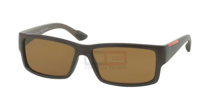 Sunglasses Prada Sport PS 05OS - NAS5Y1 BROWN DEMI SHINY POLAR BROWN