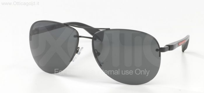 Солнцезащитные очки Prada Sport PS 56MS PS 56MS (65) - 1BO1A1 BLACK DEMI SHINY GRAY