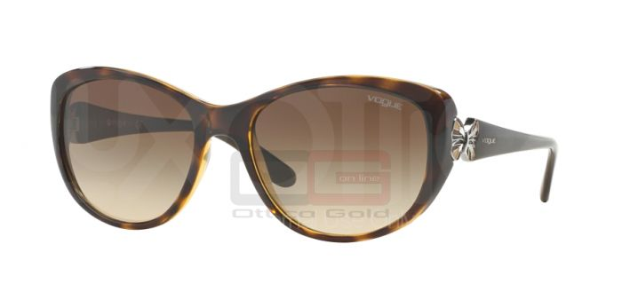 Солнцезащитные очки Vogue VO2944S - W65613 DARK HAVANA BROWN GRADIENT